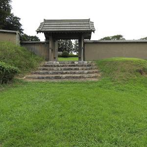 鉢形城の紹介 8 三の曲輪から諏訪曲輪