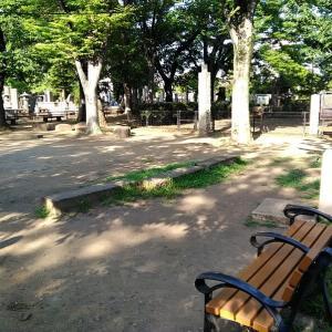 寛永寺から谷中霊園散歩3 谷中霊園 天王寺