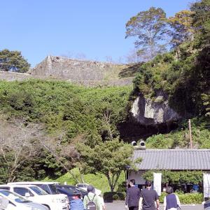 岡城(日本100名城)2  駐車場から大手門まで