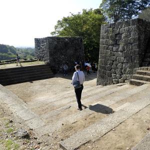 岡城(日本100名城)3 大手門跡から城代屋敷跡まで