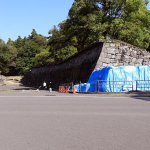 人吉城(日本100名城) 4 はねだし石垣から御下門跡まで