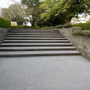 鹿児島城(日本100名城) 7 二の丸から西郷隆盛像と造士館跡 最終回