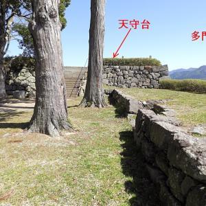 篠山城(日本100名城) 10 天守台とその眺望
