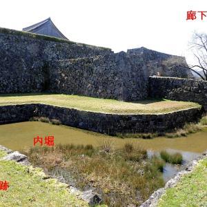 篠山城(日本100名城) 11 三の丸櫓台跡から東馬出