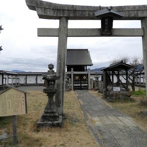 福知山城(続日本100名城) 5 朝暉神社 釣鐘門など