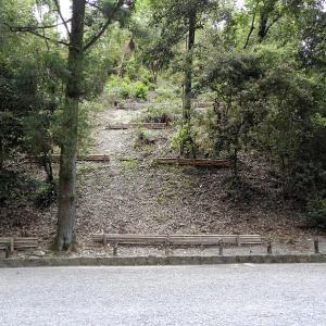 伏見城 10 大手門跡から明治天皇陵まで