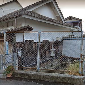 貝塚寺内町  10 寺内南側堀跡と加名家・吉村家