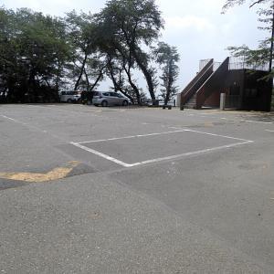 金山城(日本100名城) 2  駐車場から第2堀切まで