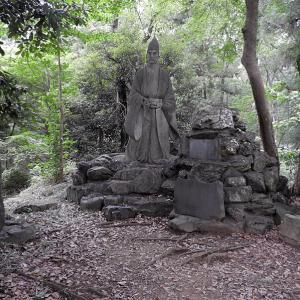 菅谷館(続日本100名城) 二ノ郭の畠山重忠像から本郭へ