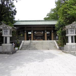東郷神社 4 神門から入り社務所の展示を見ました