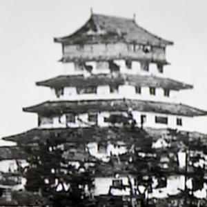 津山城(日本100名城) 16 天守台からの眺め