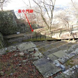 津山城(日本100名城) 19 裏中門まで