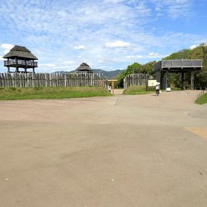 吉野ヶ里遺跡(日本100名城) 4 南内郭の中掘と内堀