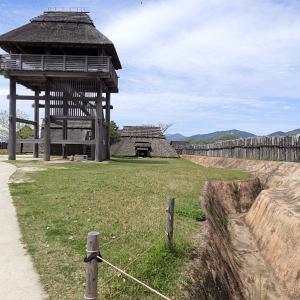 吉野ヶ里遺跡(日本100名城) 6  南内郭から北内郭
