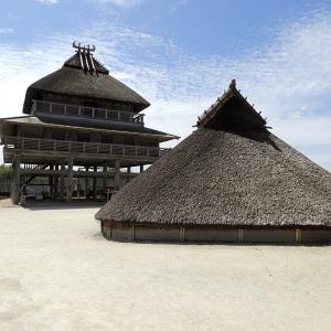吉野ヶ里遺跡(日本100名城) 8 北内郭の建物