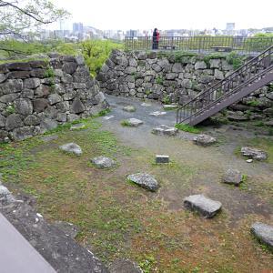 福岡城(日本100名城) 10 天守台から多聞櫓