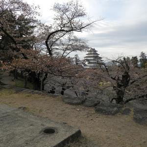 会津若松城(日本100名城) 8 月見櫓跡から廊下橋まで