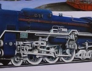 蒸気機関車・・・。