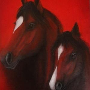 馬の絵・・・。
