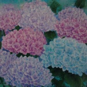紫陽花の花言葉で・・・。