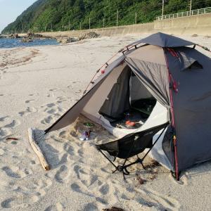 キャンプ~寒川海水浴場