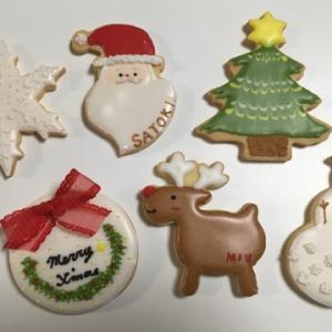 クリスマスクッキーオーダーレッスン