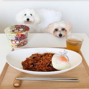 韓国のカップ麺『チャパグリ』が食べたくて…