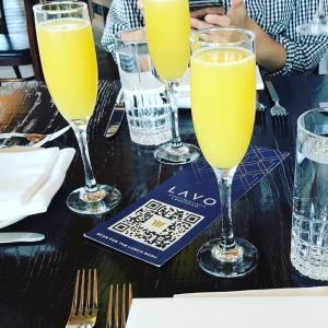 土曜のブランチはホテルのループトップレストランで〜LAVO@Marina Bay Sands〜