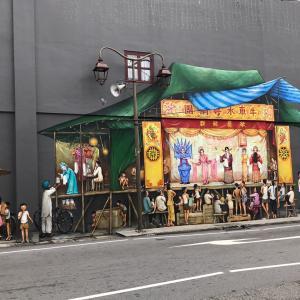 テンプルストリートのストリートアート〜チャイニーズオペラ〜