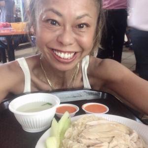 2019.11.18 今日のお外ランチは「海南鶏飯」