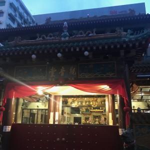 日没後に仏教寺院へ
