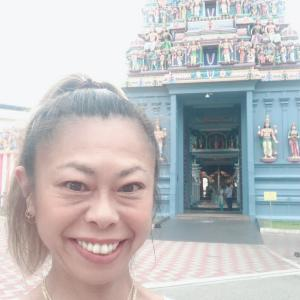 リトルインディア北エリアで極彩色寺院巡り ~スリ・スリニヴァサ・ベルマル寺院~