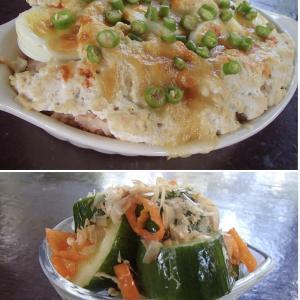 2020.04.09 バリ島ぼっち自宅ランチは「豆腐ソーストマトライスドリア+きゅうおかか」