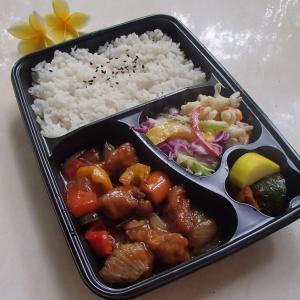 焼肉レストランの「酢豚弁当」 by Sejong Korean BBQ