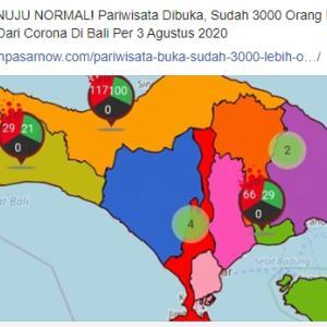 バリ島の新型コロナ感染者の現状