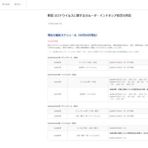 日本~バリ島直行便、11月30日(月)までの運休公式発表