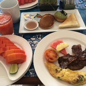 2021.01.21 バリ島ホテル朝ご飯