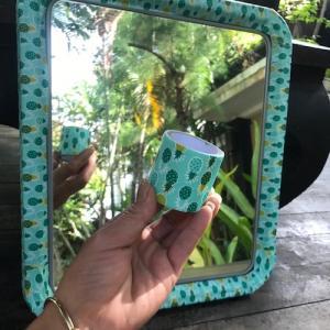 オペレーションのため鏡をDIYしました♪