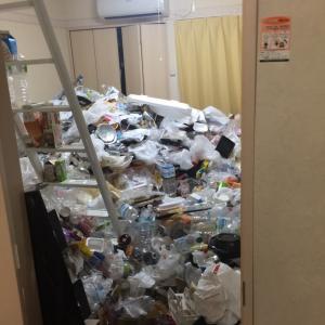 三条市方面でのゴミ屋敷片付け作業