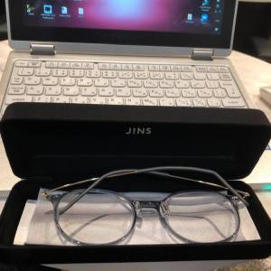 JINSで2つ目のメガネを買いました(1つ目はUVカットのみの度なしレンズ)