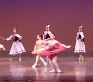 初めてのバレエ発表会