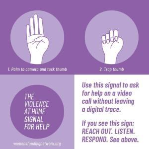 「助けて」を伝える世界共通のサイン