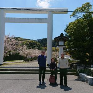 日本列島の龍の手の爪に位置する安房国一宮 安房神社