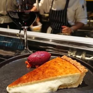 ワインに合うチーズケーキもその他もすごく美味しかったスペインバル