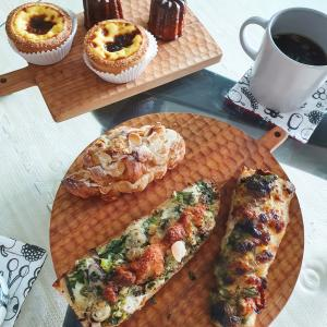 Croisserieのパンで、春のパン祭り