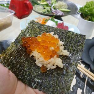 手巻き寿司セットをデリバリーしておうち手巻き寿司パーティー