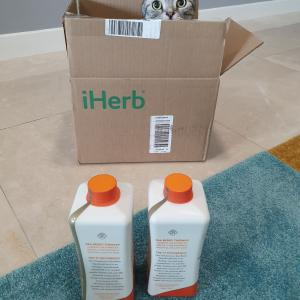 iHerbでサジージュースとグミのサプリを頼んでみました。