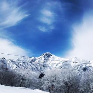 空と雲と雪と 〜白馬五竜スキー場〜