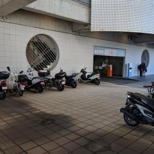 【バイク駐車場メモ】晴海旅客ターミナル