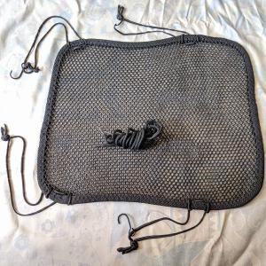 200円メッシュシートカバーのゴム紐を交換